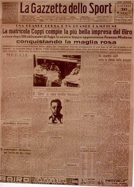Gazzetta Dello Sport Giro Italia Gazzetta Dello Sport Quot Del